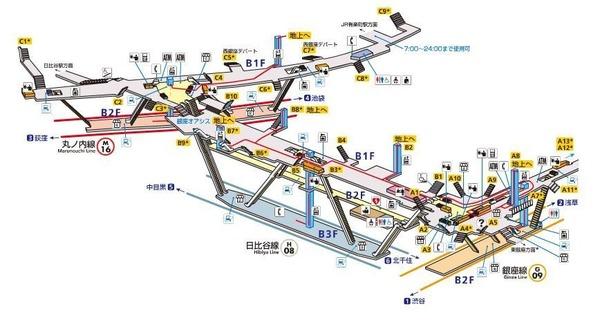 Lv.25 銀座駅
