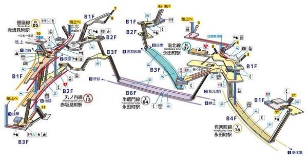 Lv.46 赤坂見附駅⇔永田町駅