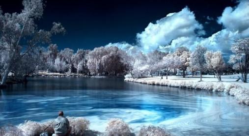 赤外線で撮影した写真綺麗すぎwwwワロタwwww photo hack